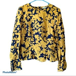 H&M Fitted Floral Blouse | 10